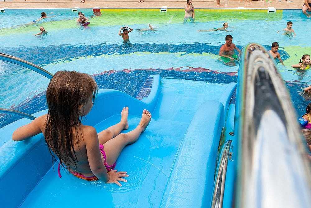 Бассейн для детей в Отель Yalta Intourist