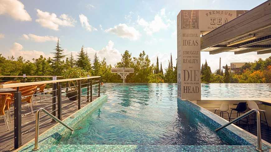 Аквабар в Отель Yalta Intourist