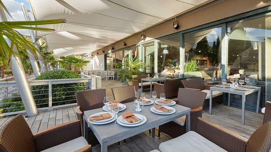 Ресторан «Самурай» в Отель Yalta Intourist