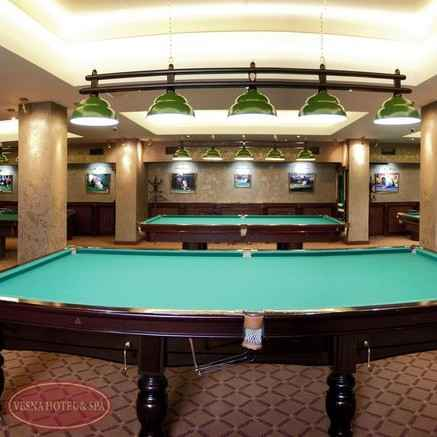 Бильярд - Отель «Volna Resort & SPA»