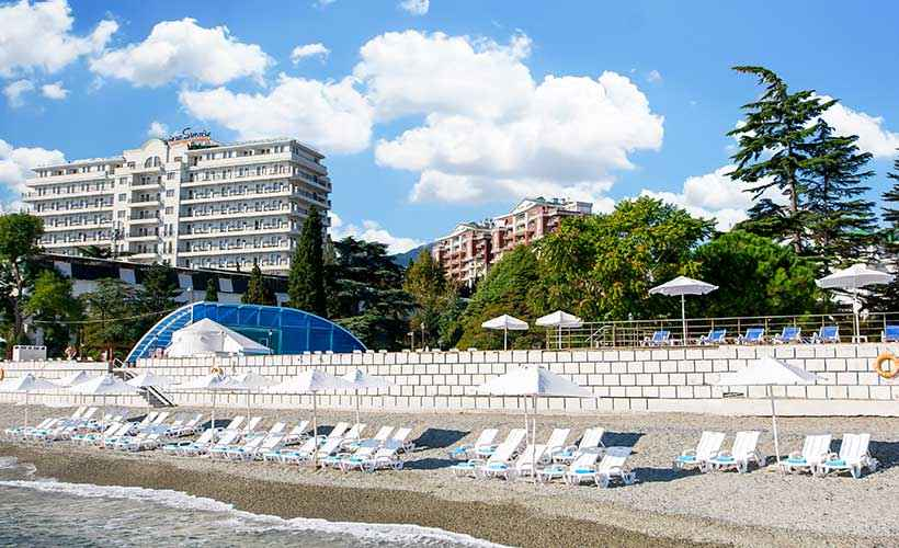 Море и пляж в Riviera Sunrise Resort&SPА