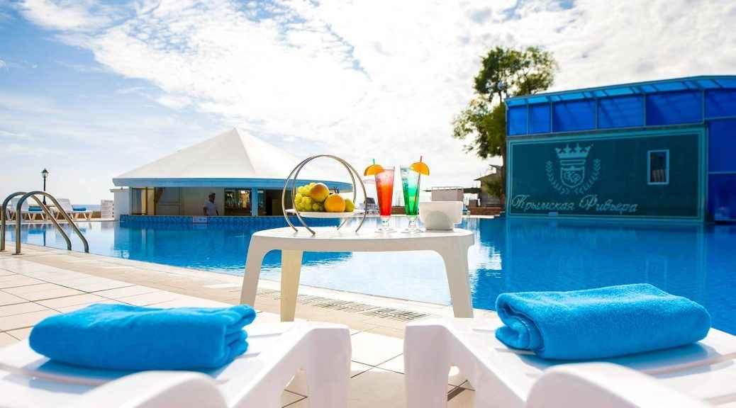 Pool-бар в Riviera Sunrise Resort&SPА