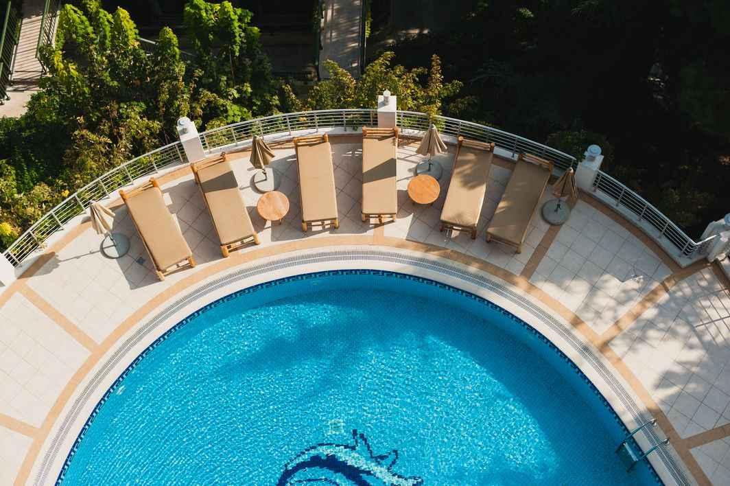 Бассейн 9 виллы в More Spa & Resort