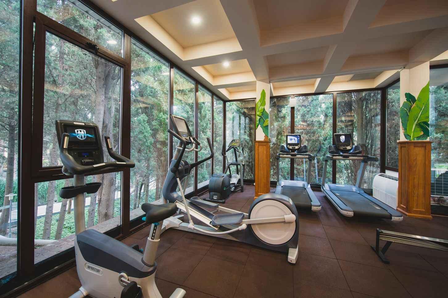 Тренажерный зал в More Spa & Resort