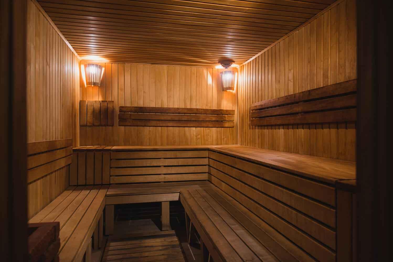 Финская сухая сауна в More Spa & Resort