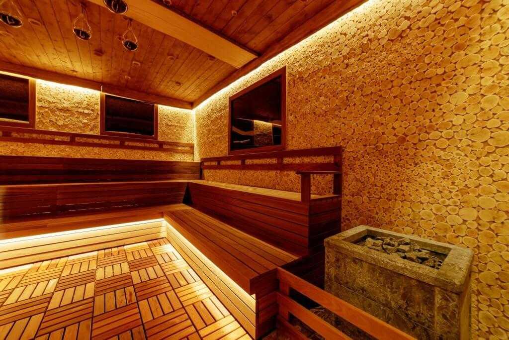 Европейские сауны - Парк-отель «Солнечный»