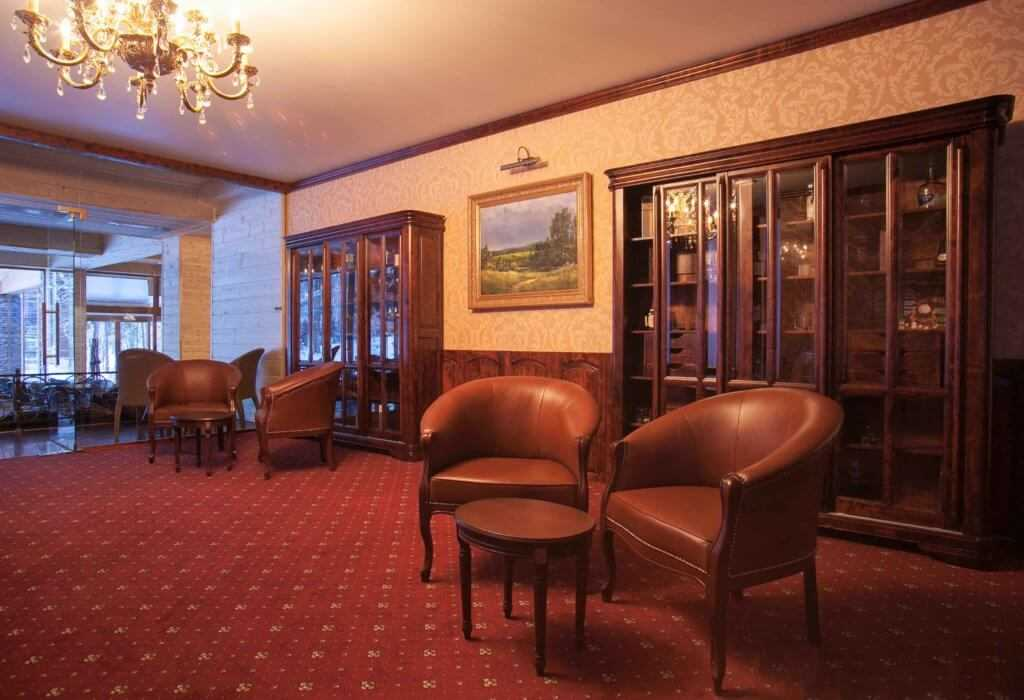 Сигарная комната в Парк-отель «Солнечный»