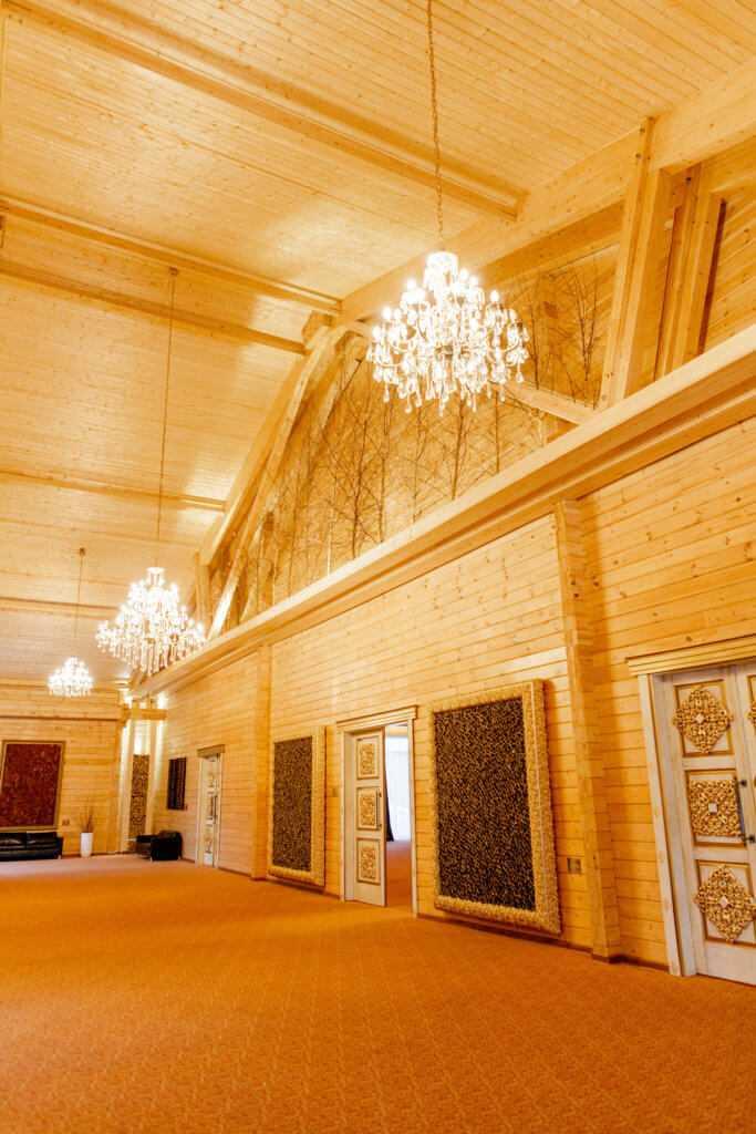 Зал «Шишка» в Парк-отель «Солнечный»
