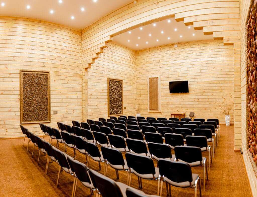 Зал «Кедровый» в Парк-отель «Солнечный»