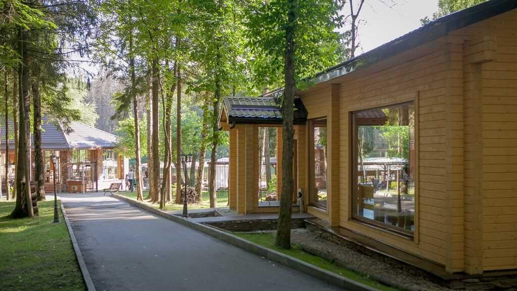 Чайный дом в Парк-отель «Солнечный»