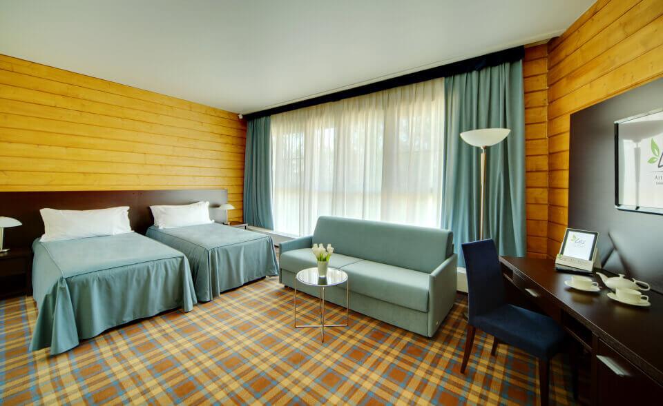 Classic suite в Парк-отель LES Art Resort