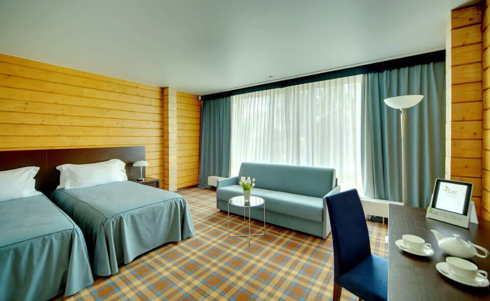 Panorama suite в Парк-отель LES Art Resort