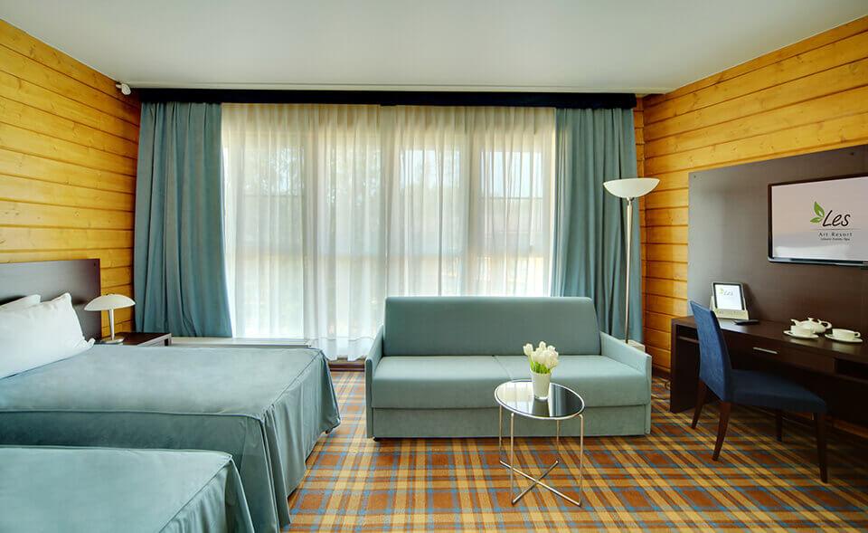 Classic suite + в Парк-отель LES Art Resort