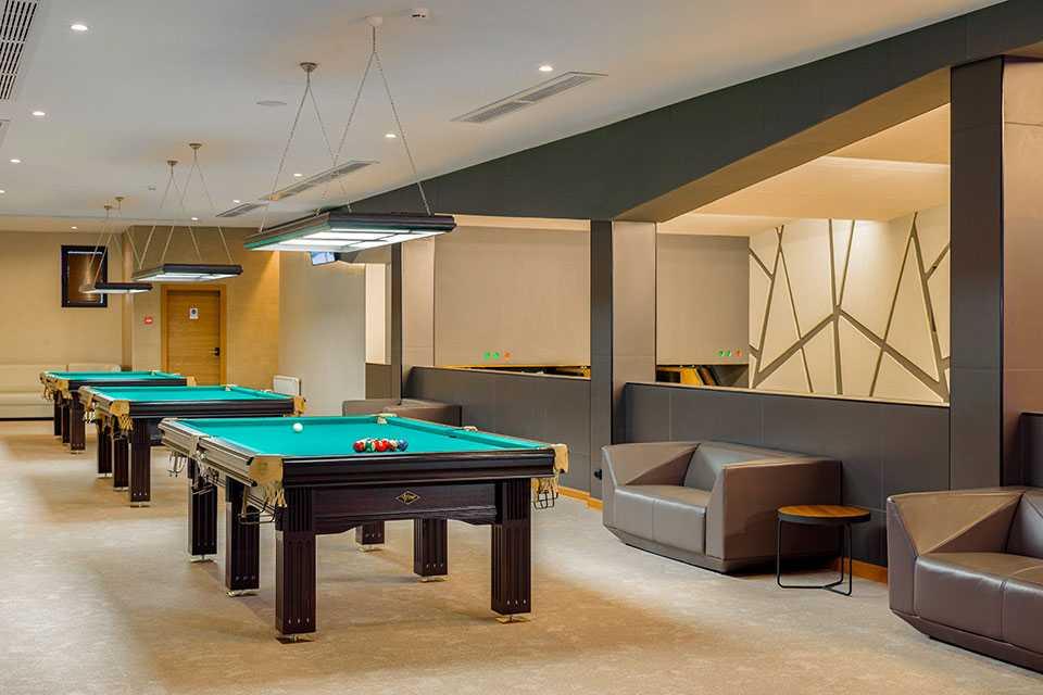 Бильярд «ACADEMIA» в Парк-отель LES Art Resort