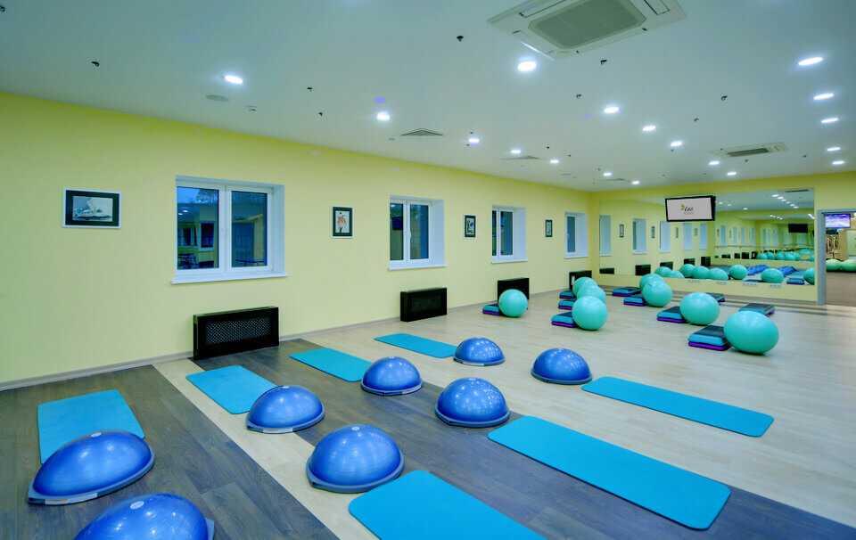 Фитнес-центр в Парк-отель LES Art Resort