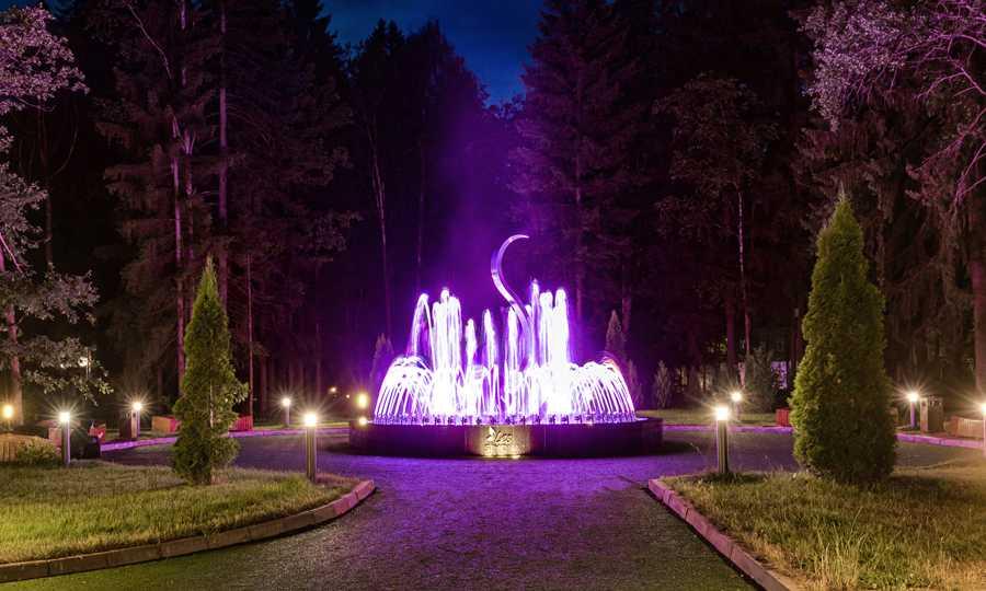 Фонтан «SIMONA» в Парк-отель LES Art Resort