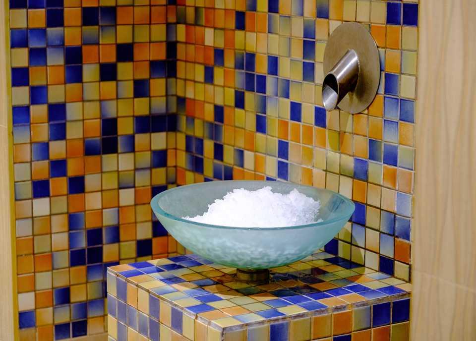 «Ледяной фонтан» в Парк-отель LES Art Resort