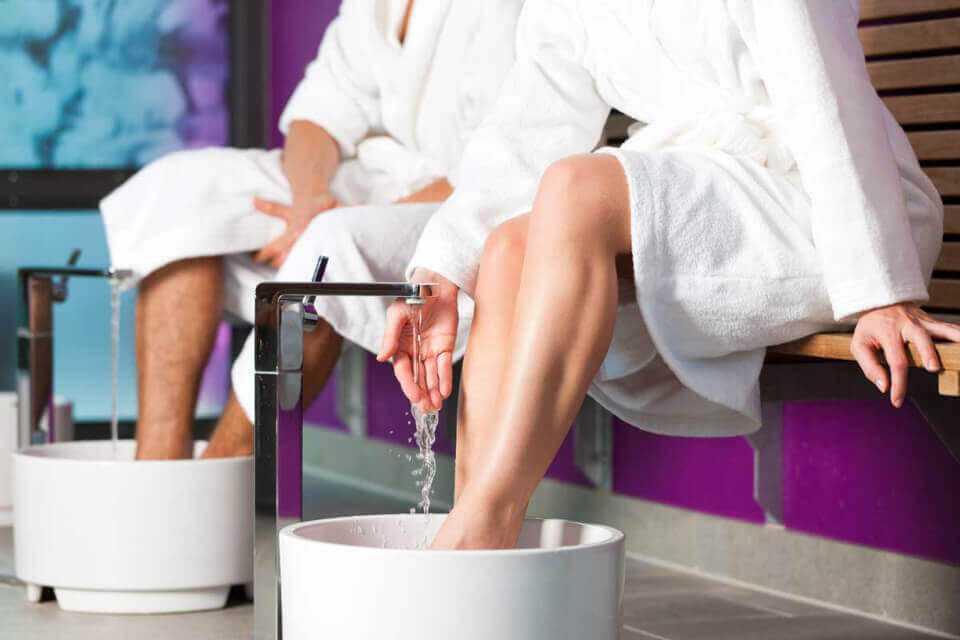 Гидромассажные ванночки в Парк-отель LES Art Resort
