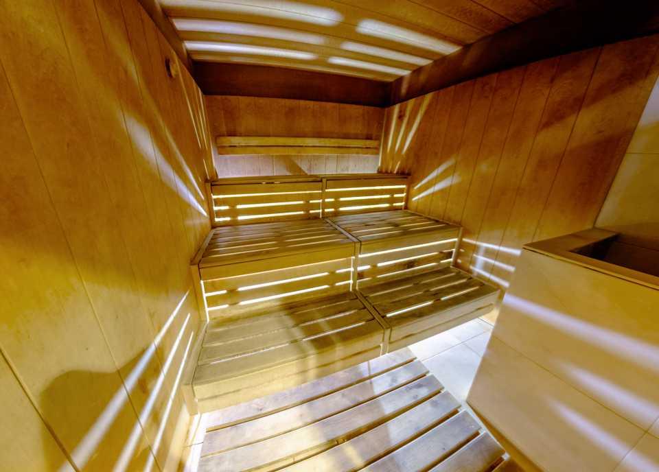 Финская сауна в Парк-отель LES Art Resort