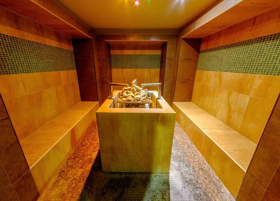 Травяная сауна в Парк-отель LES Art Resort