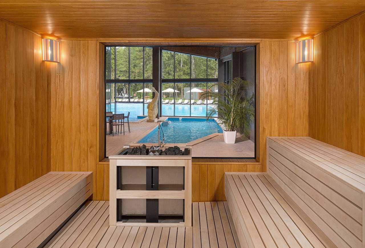 Сауна в Парк-отель LES Art Resort