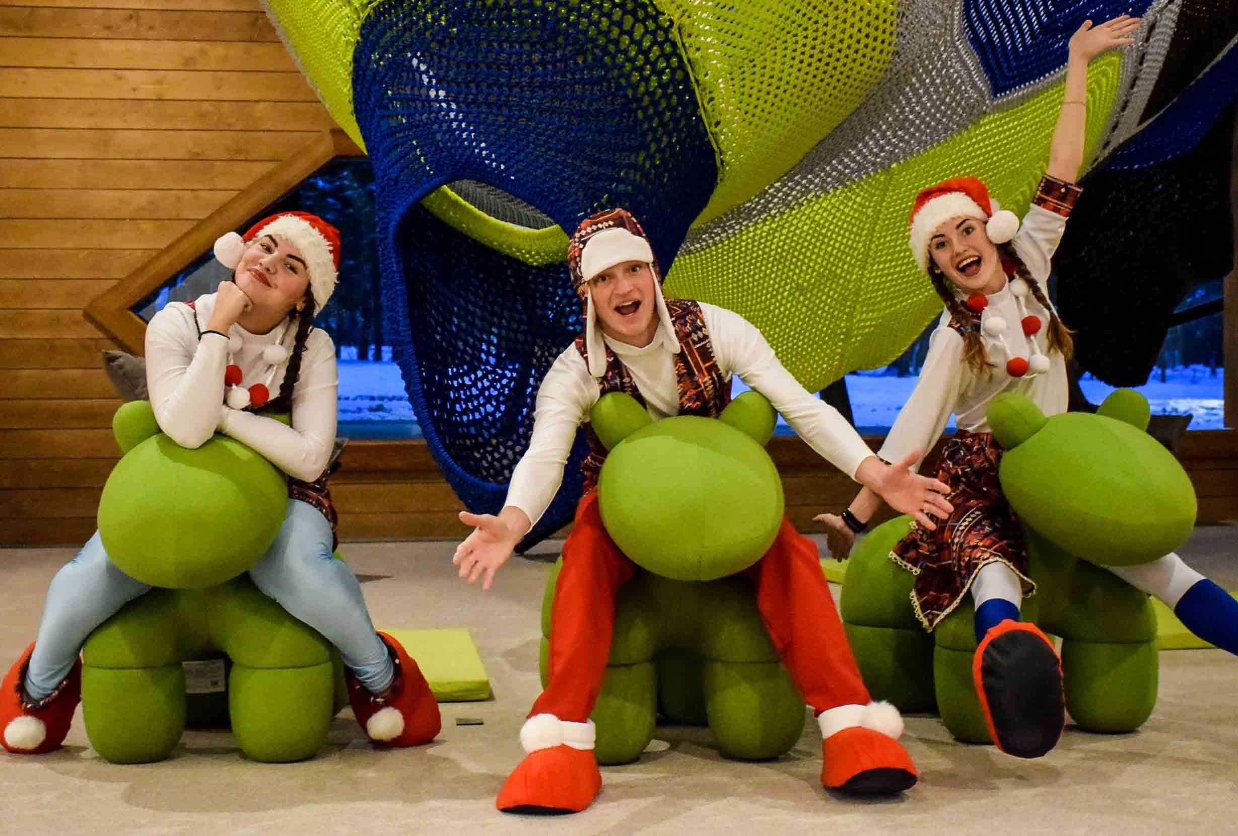 Детская развлекательная зона - Парк-отель LES Art Resort