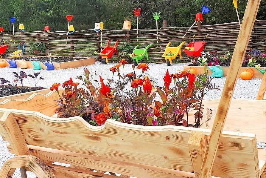 Эко-огород в Парк-отель LES Art Resort