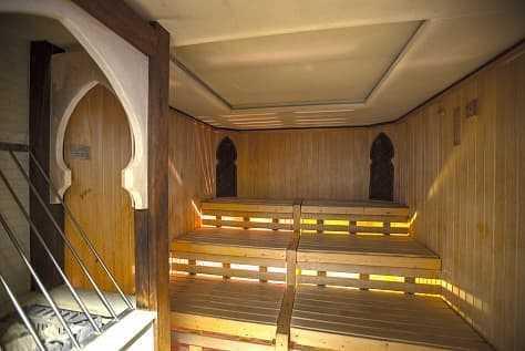 Римская парная, финская и травяная сауна в Артурс СПА отель