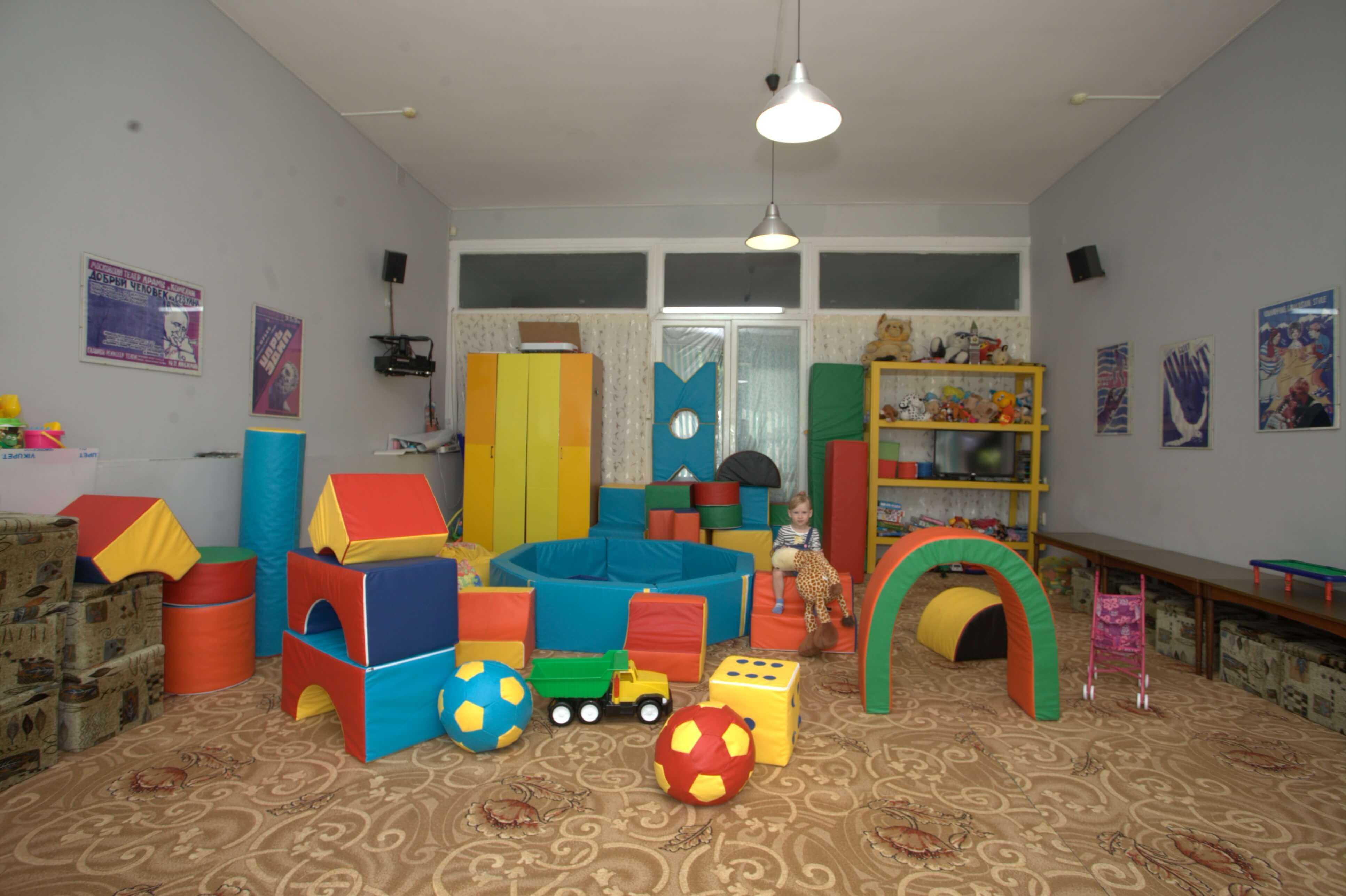 Детская игровая комната в Санаторий Актер