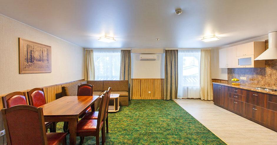 Апартаменты трехкомнатные в Яхонты Таруса