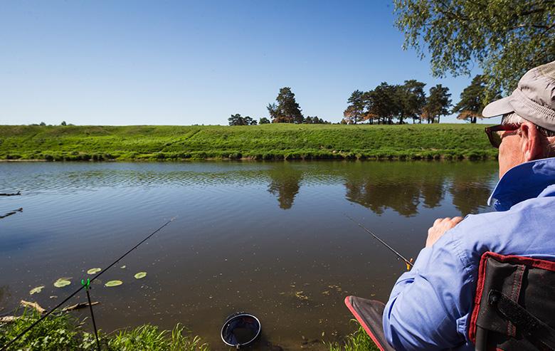 Рыбалка в Яхонты Таруса