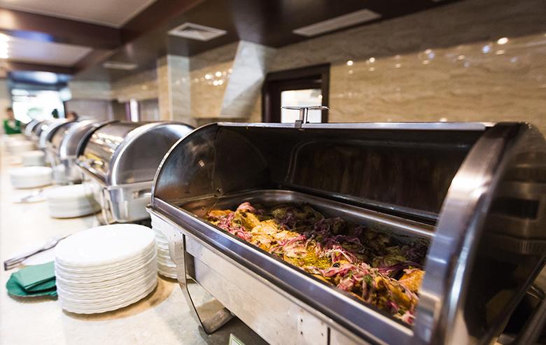 Ресторан шведской линии в Яхонты Таруса
