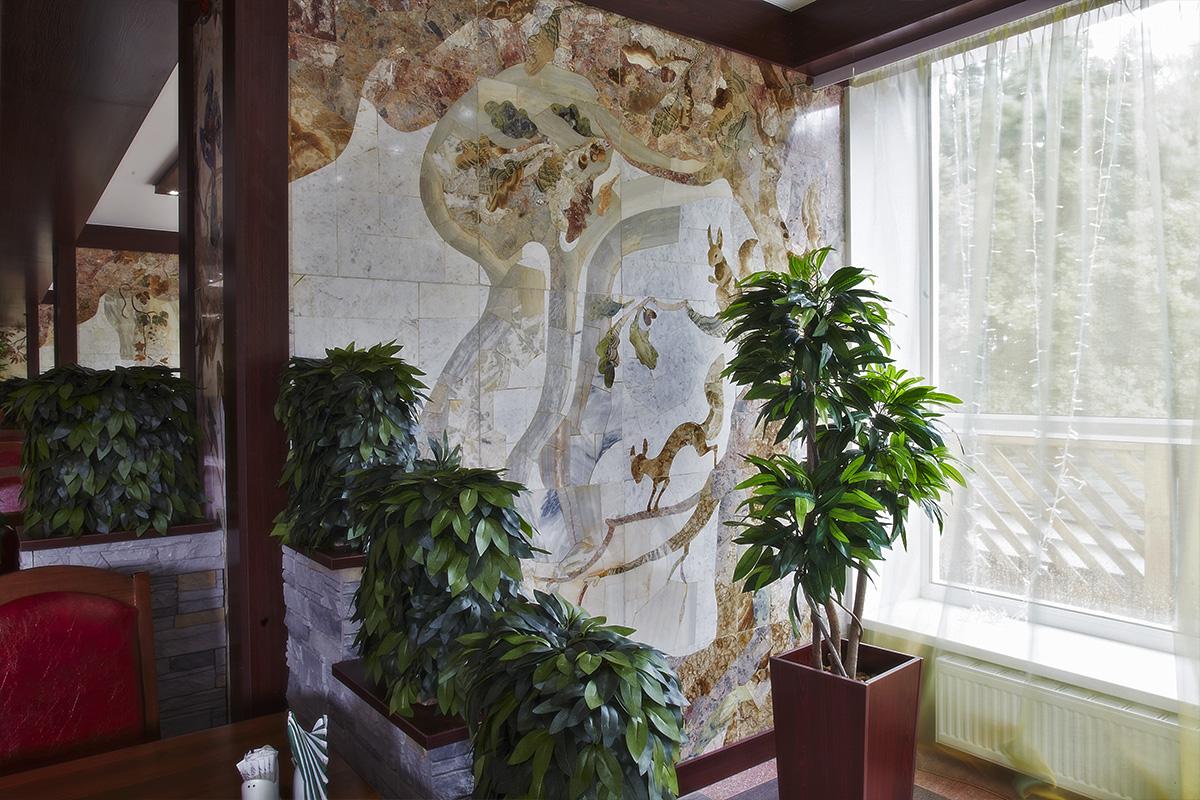 Зал «Мозаика» в Яхонты Таруса