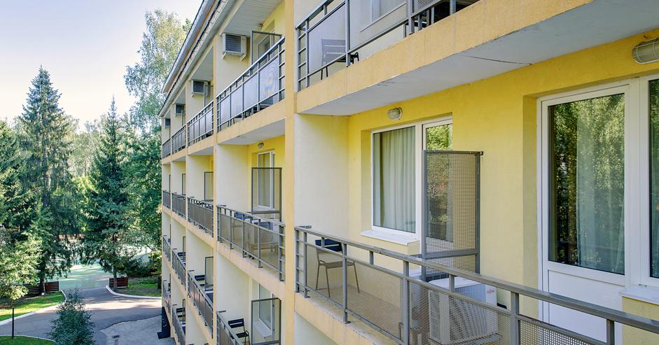 Корпус Лесной «Делюкс с балконом и террасой» в Яхонты Истра