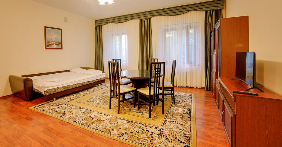 Апартаменты 2-местный 2-комнатный корпус 3 в Яхонты Истра