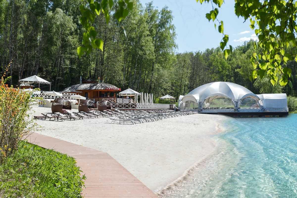 Пляжи в Парк-отель Орловский