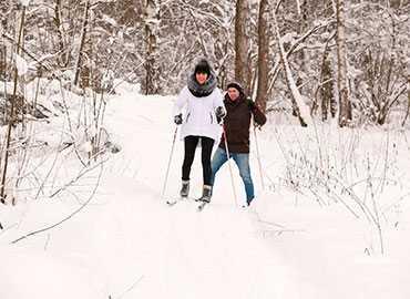 Лыжи в Парк-отель Орловский