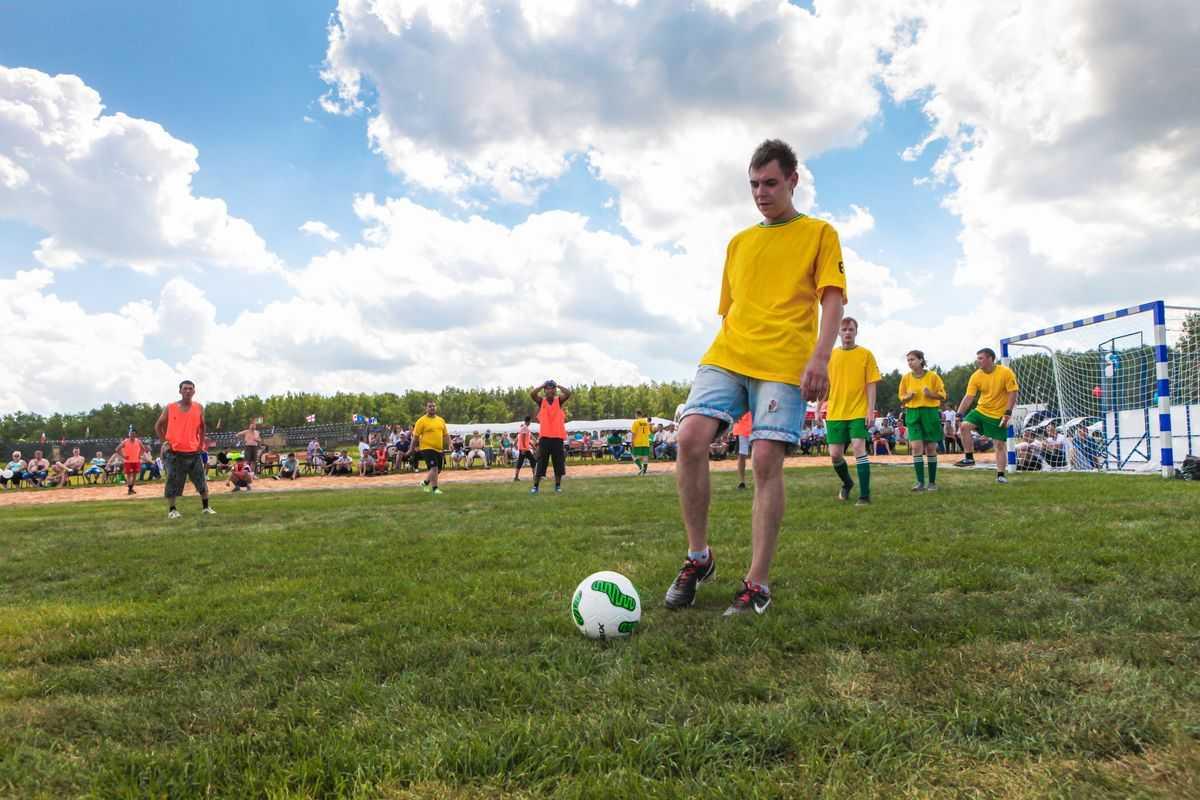 Футбол в Парк-отель Орловский