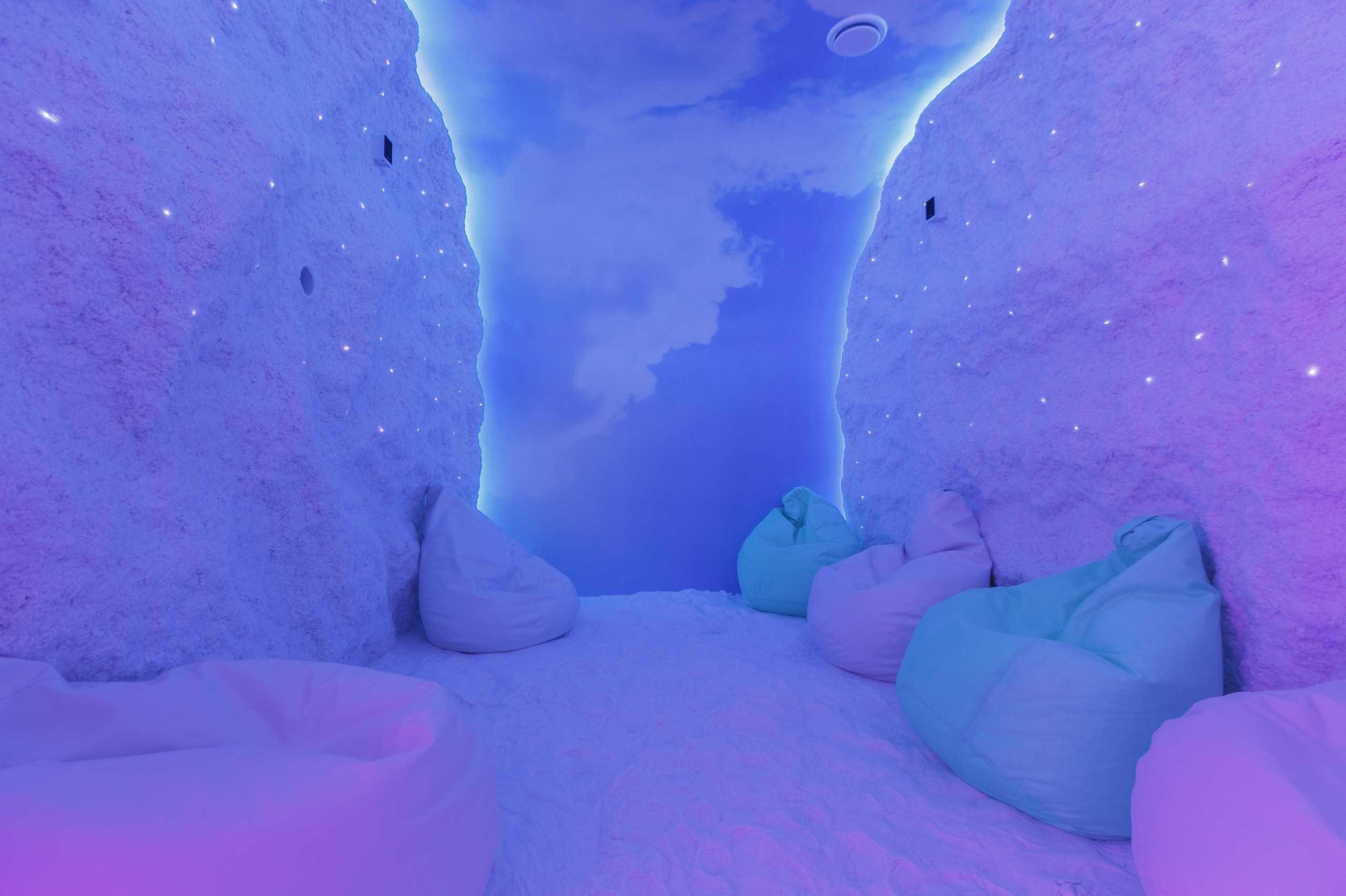 Соляная пещера в Парк-отель Орловский