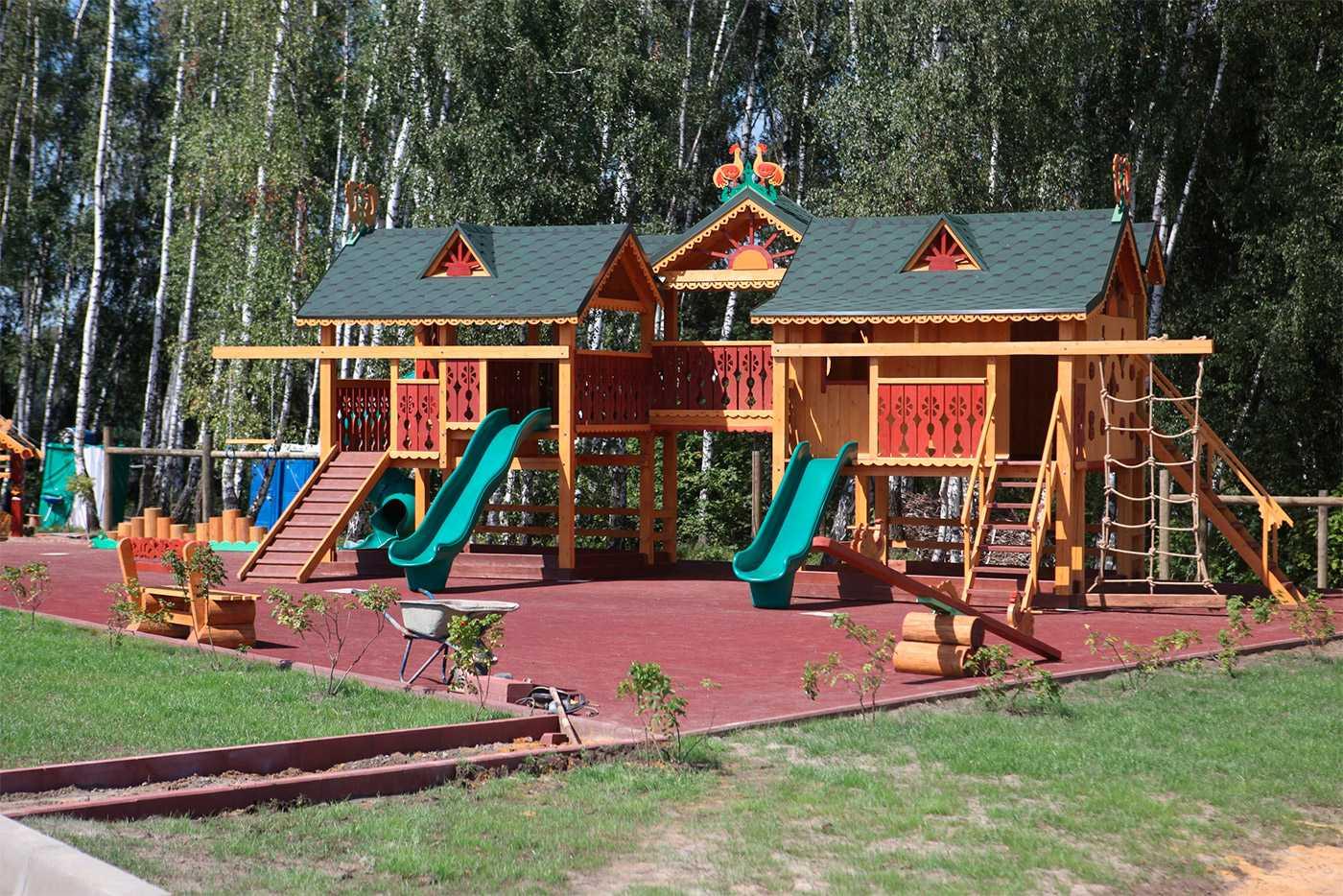 Детская площадка - Парк-отель Орловский